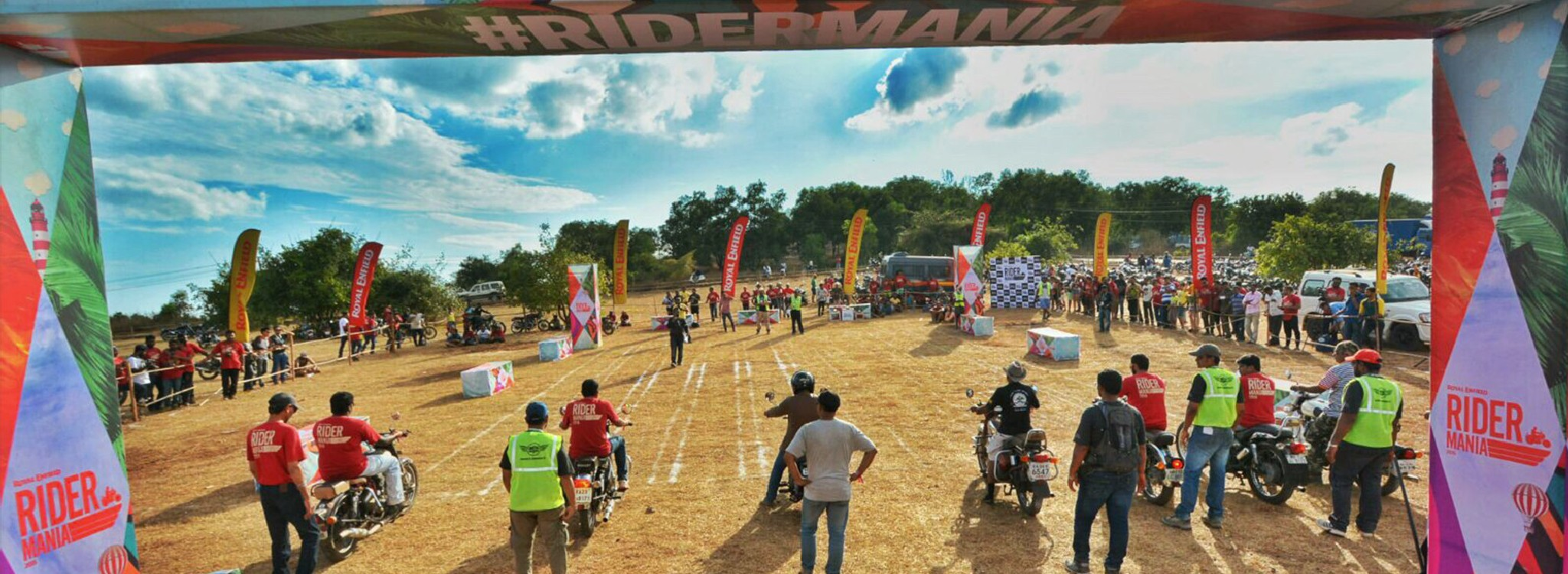 Kerala to Goa and Rider Mania!
