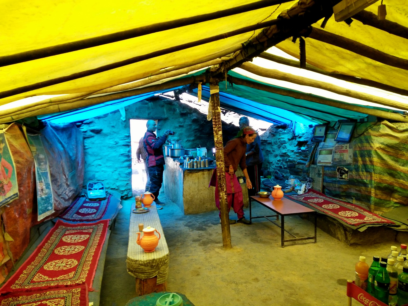 A Dhaba in Spiti Valley