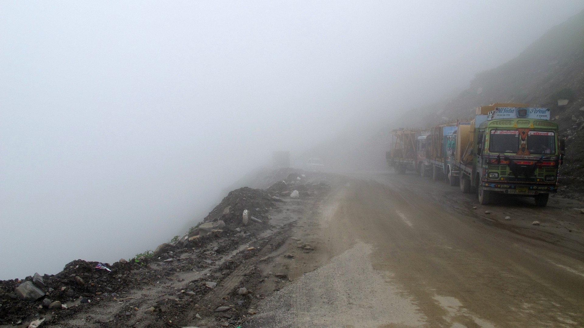 Rohtang Pass visibility
